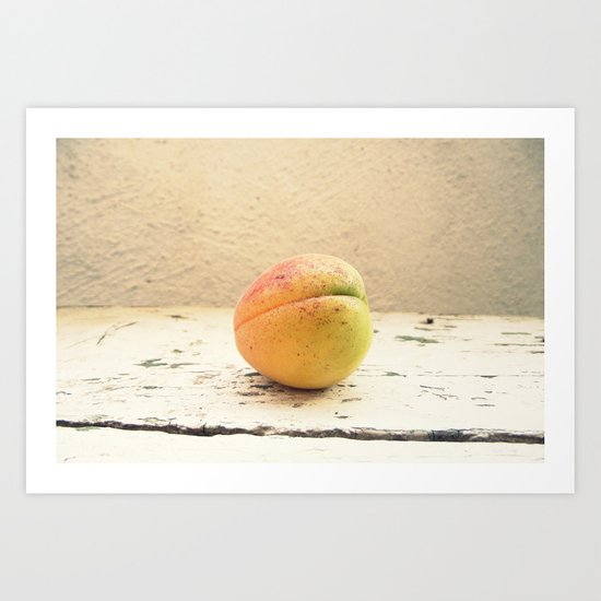 One appricot Art Print