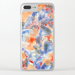 Yellow Willows Clear iPhone Case