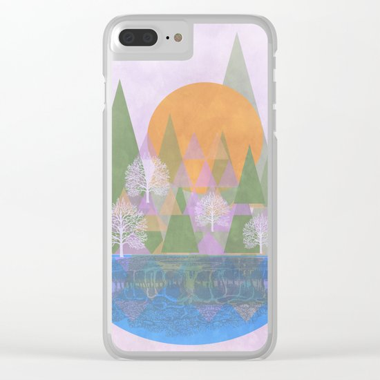 Spring Dream Clear iPhone Case
