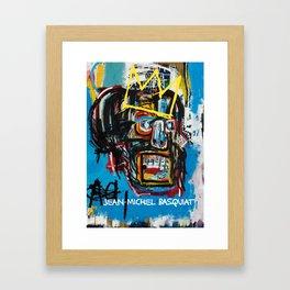 BASQUIAT SAMO Framed Art Print