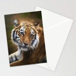 Painted Tiger Stationery Cards