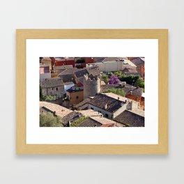 Begur Framed Art Print