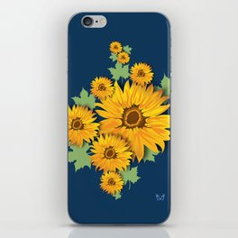Summer Sunflower iPhone Skin