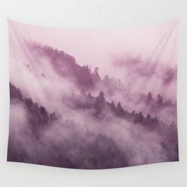 Purple Haze in the Smokey Mountains Wall Tapestry