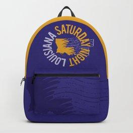 Louisiana Saturday Night Backpack