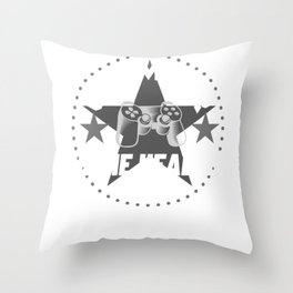 home-health-aide Gamer Gift Throw Pillow
