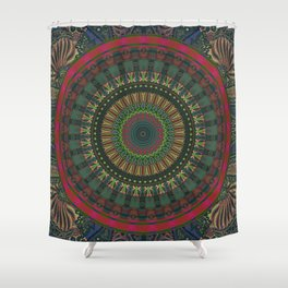 All A Dream Mandala Shower Curtain