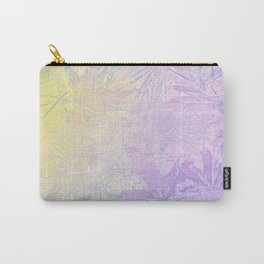 Golden Fall Watercolor Leaf Impressions Carry-All Pouch