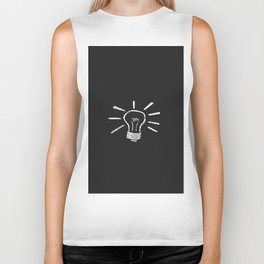 Lightbulb Moment Biker Tank