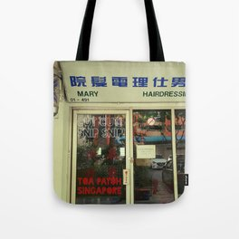 BARBER Tote Bag
