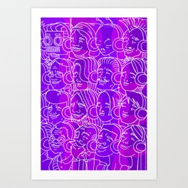 For Your Ears Art Print