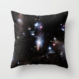 Symphony of Space Throw Pillow