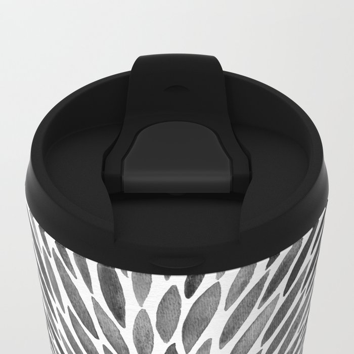 Blackened Burst Metal Travel Mug