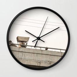 Agra Overpass Wall Clock