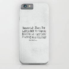 Ralph Waldo Emerson: Beautiful Slim Case iPhone 6