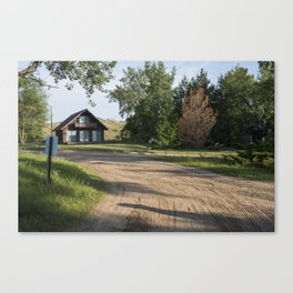 Lake Michigan Cottage Canvas Print