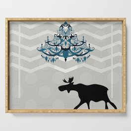 A Moose finds home Serving Tray