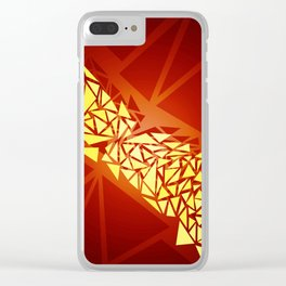 wip- shapes Clear iPhone Case