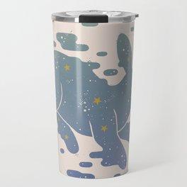 Lepus Constellation: Pastel Travel Mug