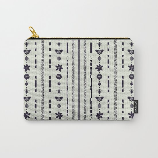 DG Floral Pattern 1 Carry-All Pouch