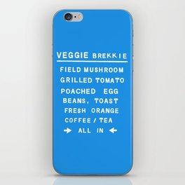 Veggie Brekkie iPhone Skin