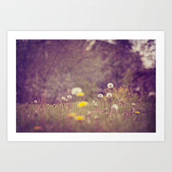 maybe some day.... Art Print