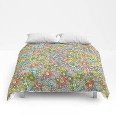 SUPER FLOWER POWER Comforters