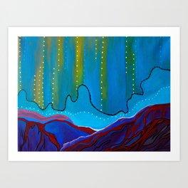 Mini Desert 4 Art Print