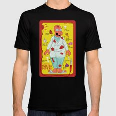 Dr. Zoidberg's Useless Organs  X-LARGE Black Mens Fitted Tee