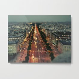 champs elysees Metal Print