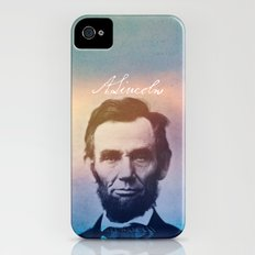 Stand Firm. Lincoln. 1809-1865. Slim Case iPhone (4, 4s)