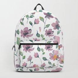 Watercolor Flower flow Backpack