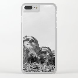 Mount Rushmore National Memorial Clear iPhone Case