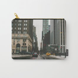 Winter In the Streets Carry-All Pouch