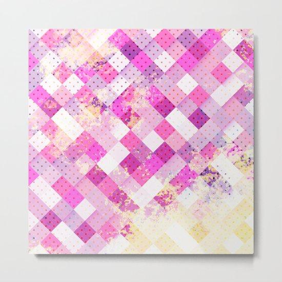 Sweet in Pink Metal Print