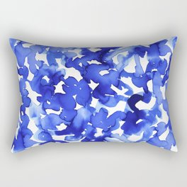 Energy Blue Rectangular Pillow