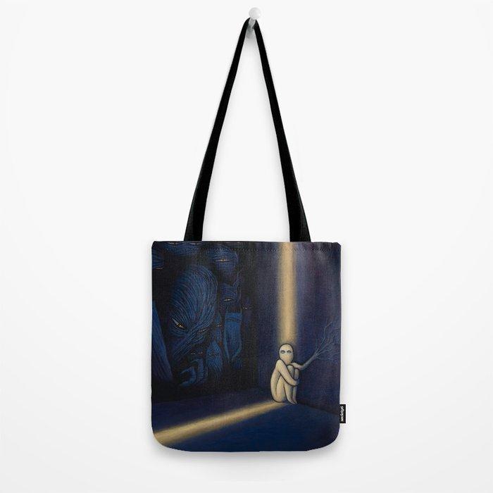 Dark Side Of Me Tote Bag