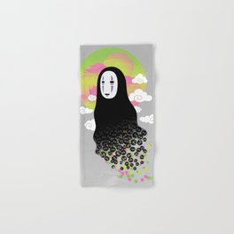 No Face and Soot Sprites Hand & Bath Towel