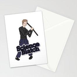 Leo Fitz - Science Biatch Stationery Cards