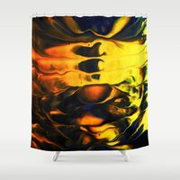 firefly Shower Curtains featuring FIREFLY by ....