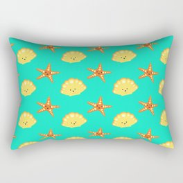 Beach Pattern Rectangular Pillow