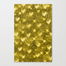 Shiny Gold Canvas Print