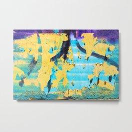 Softly peeling paint Metal Print