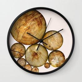 Wood Wood 1 Wall Clock
