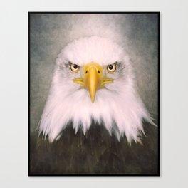 Portrait of an Eagle Canvas Print