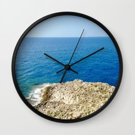 Bunker Sea View Wall Clock