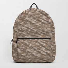 Desert Army Camouflage Backpack