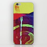 hook iPhone & iPod Skins featuring Hook Echo by David Lee