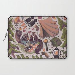 valentine squirrels camping Laptop Sleeve