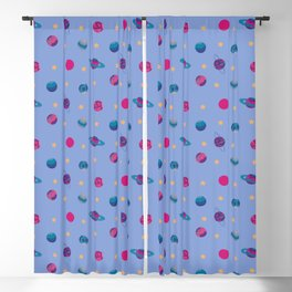 Outer Space - Planets and Stars Blackout Curtain